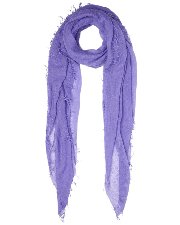 Chan Luu Accessories Cashmere & Silk Scarf in Aster Purple