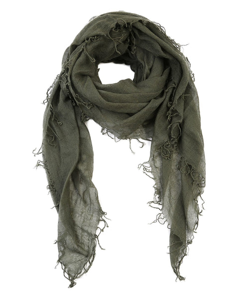Chan Luu Accessories Cashmere & Silk Scarf in Beetle