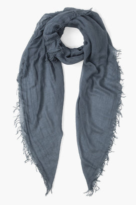 Chan Luu Accessories Cashmere & Silk Scarf in Blue Mirage