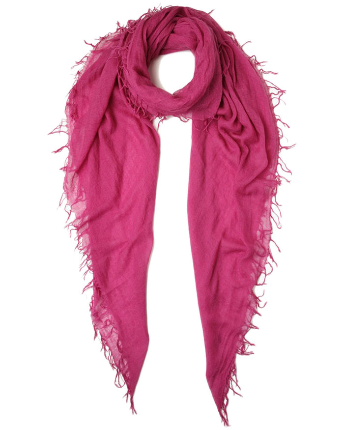 Chan Luu Accessories Cashmere & Silk Scarf in Boysenberry