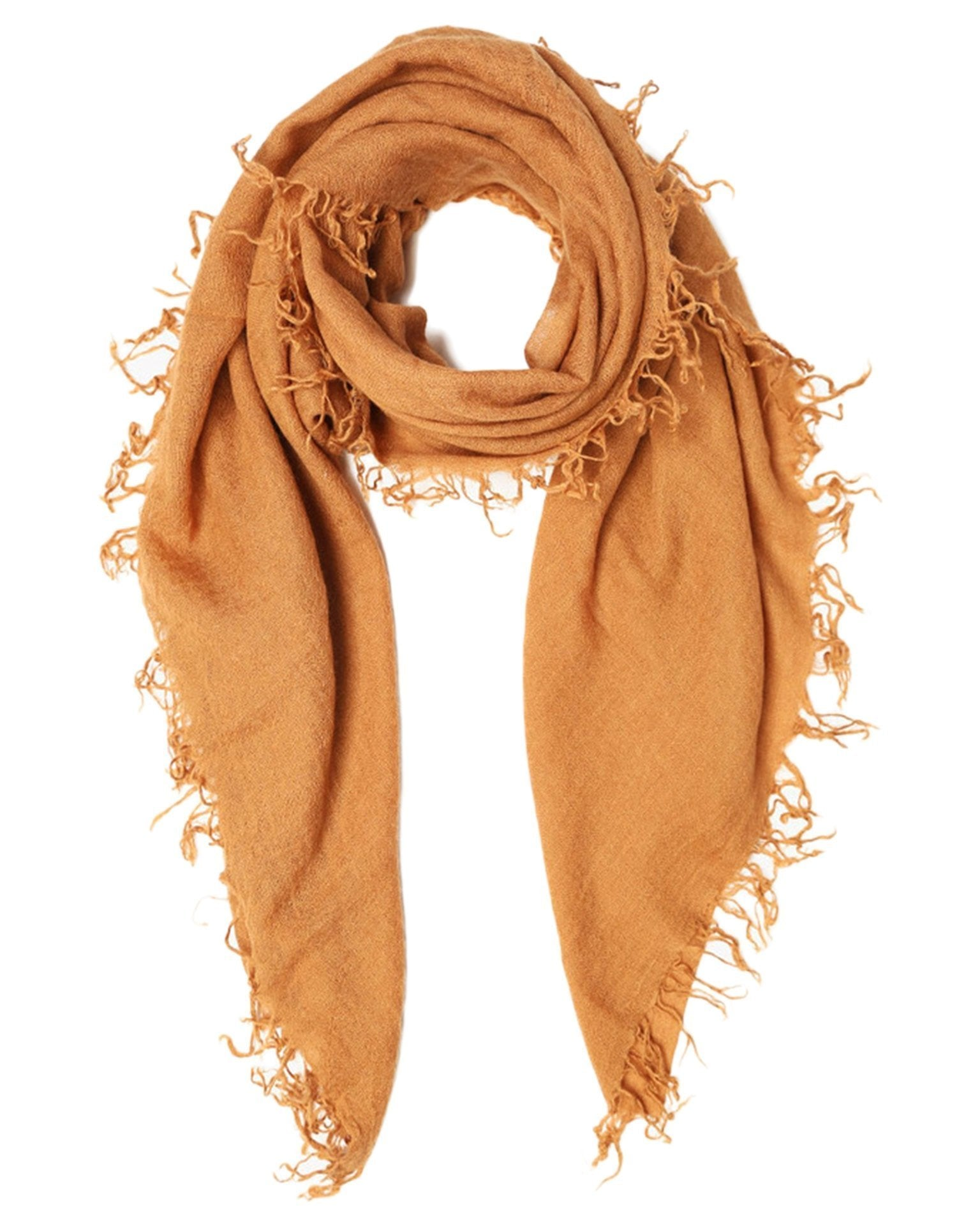 Chan Luu Accessories Cashmere & Silk Scarf in Brown Sugar