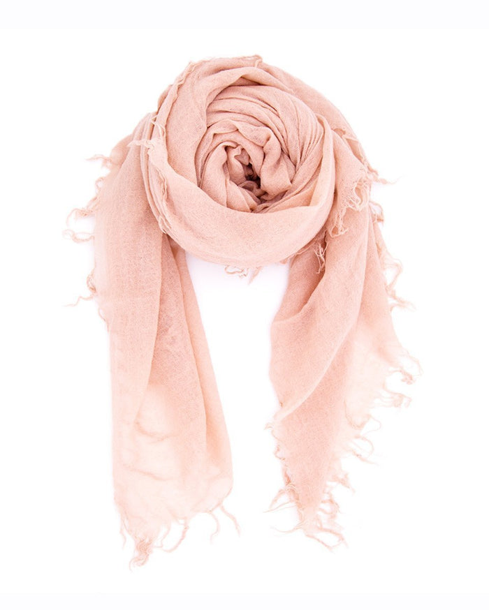 Chan Luu Accessories Cashmere & Silk Scarf in Cameo Rose