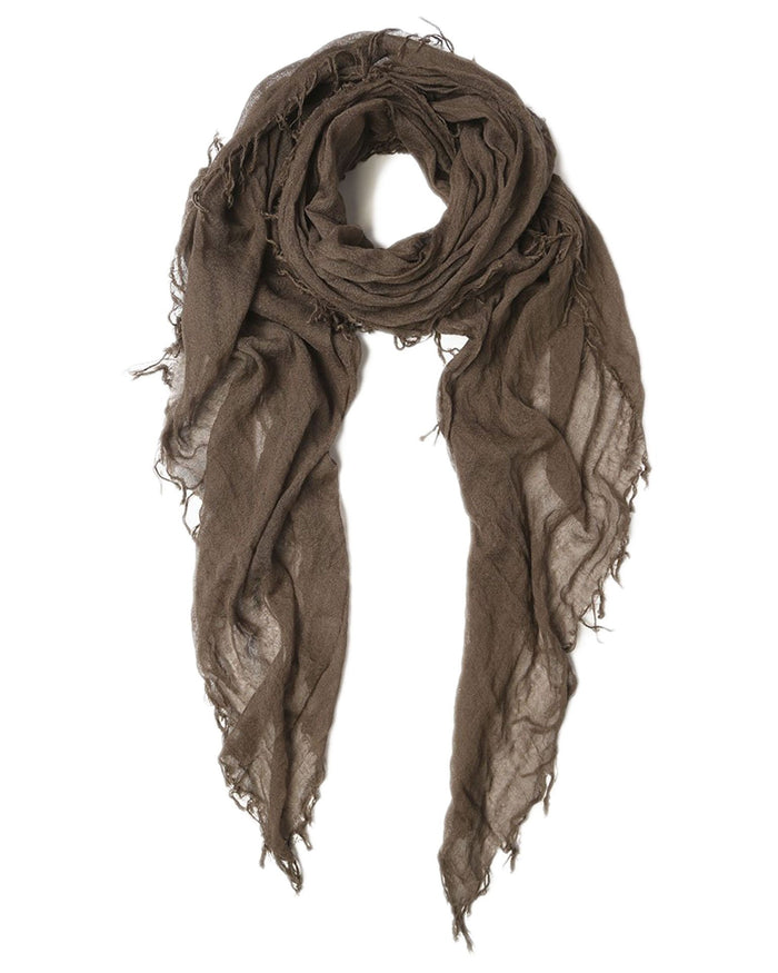 Chan Luu Accessories Cashmere & Silk Scarf in Chocolate Chip
