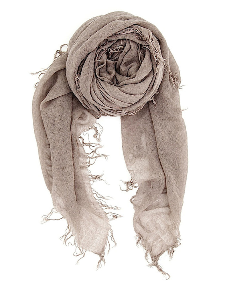 Chan Luu Accessories Cashmere & Silk Scarf in Cinder