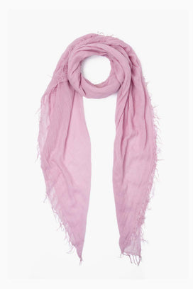 Chan Luu Accessories Cashmere & Silk Scarf in Dawn Pink