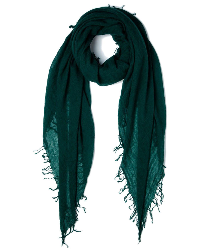 Chan Luu Accessories Cashmere & Silk Scarf in Deep Teal