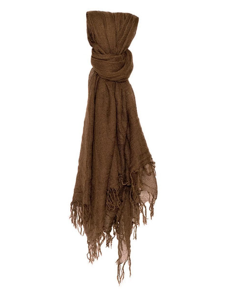 Chan Luu Accessories Cashmere & Silk Scarf in Desert Palm