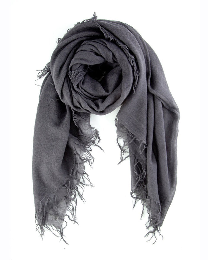 Chan Luu Accessories Cashmere & Silk Scarf in Eiffel Tower