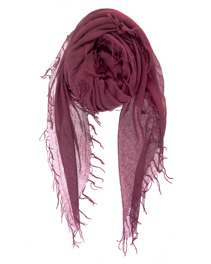 Chan Luu Accessories Cashmere & Silk Scarf in Fig