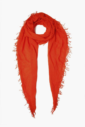 Chan Luu Accessories Cashmere & Silk Scarf in Flames