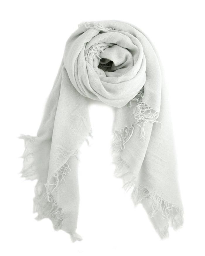 Chan Luu Accessories Cashmere & Silk Scarf in Glacier Grey