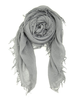 Chan Luu Accessories Cashmere & Silk Scarf in Griffin