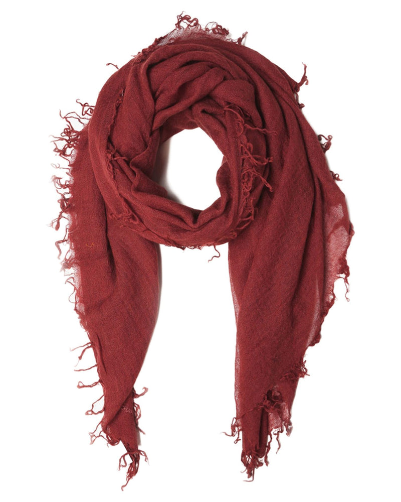Chan Luu Accessories Cashmere & Silk Scarf in Henna