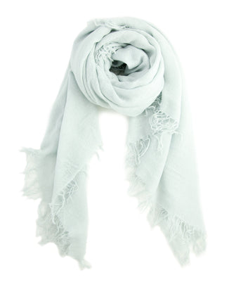 Chan Luu Accessories Cashmere & Silk Scarf in Ice Flow