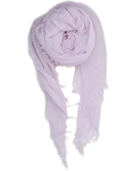 Chan Luu Accessories Cashmere & Silk Scarf in Lavender Fog