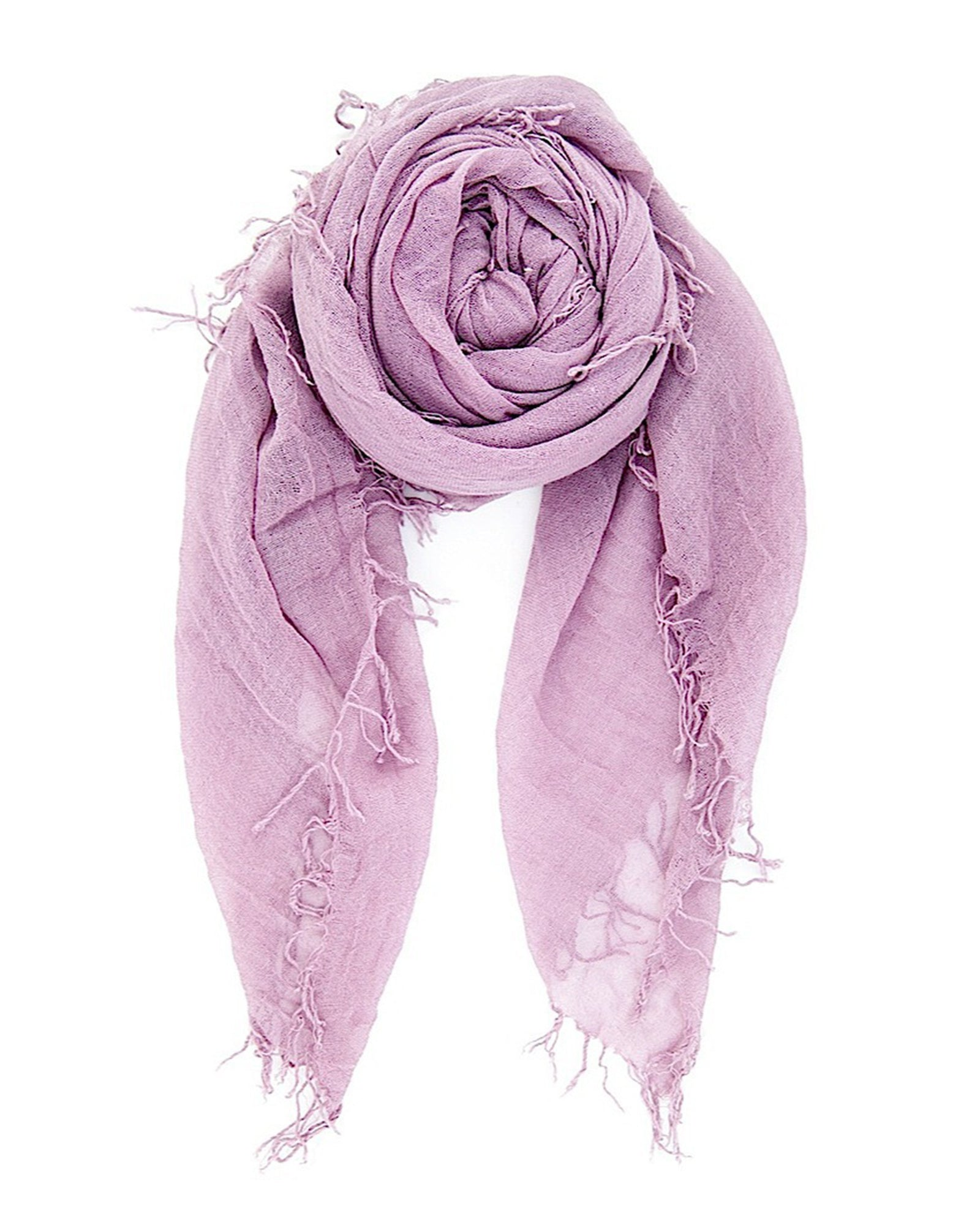 Chan Luu Accessories Cashmere & Silk Scarf in Light Purple