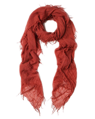 Chan Luu Accessories Cashmere & Silk Scarf in Marsala