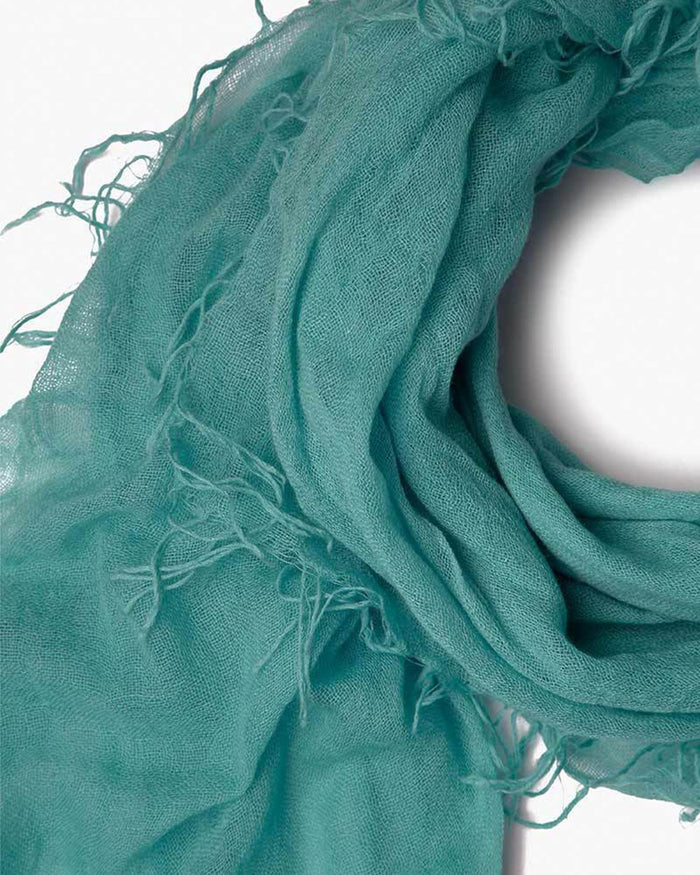 Chan Luu Accessories Cashmere & Silk Scarf in Mineral Sea