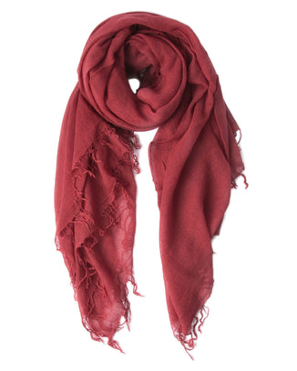 Chan Luu Accessories Cashmere & Silk Scarf in Red Pear