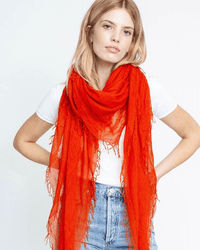 Chan Luu Accessories Cashmere & Silk Scarf in Rooibos Tea