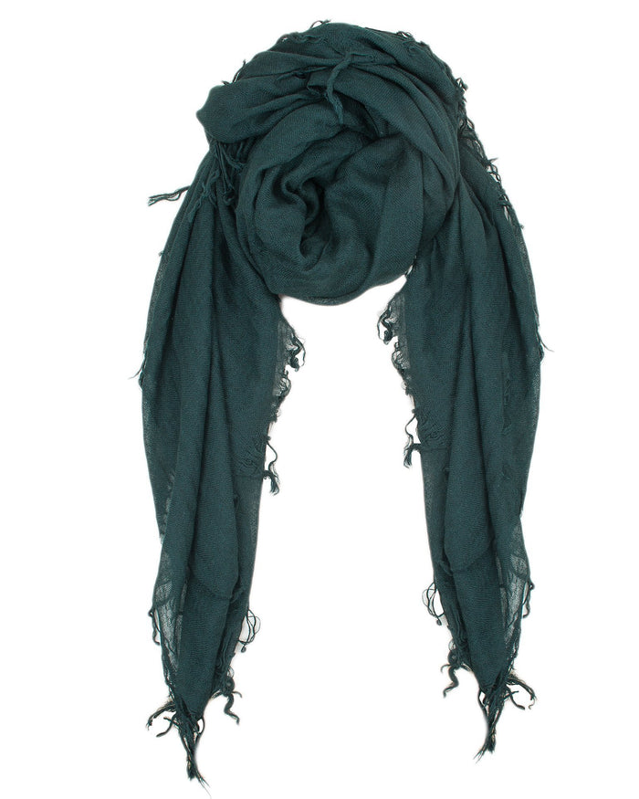 Chan Luu Accessories Cashmere & Silk Scarf in Scarab