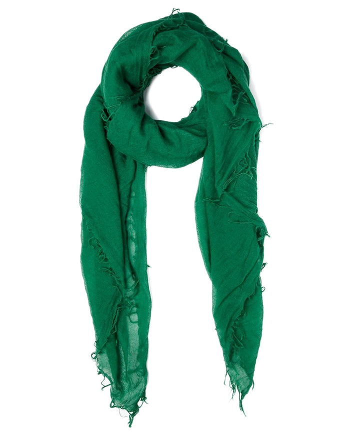 Chan Luu Accessories Cashmere & Silk Scarf in Verdant Green