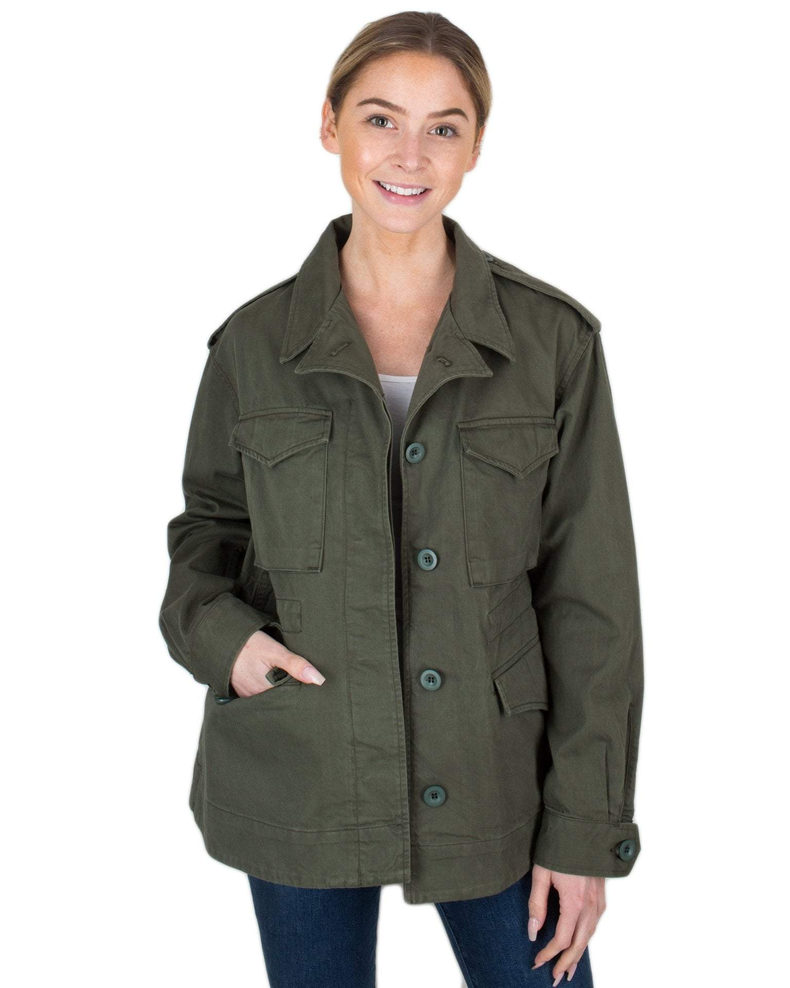 Citizen's of Humanity Clothing Field Green / XS Ada Jacket