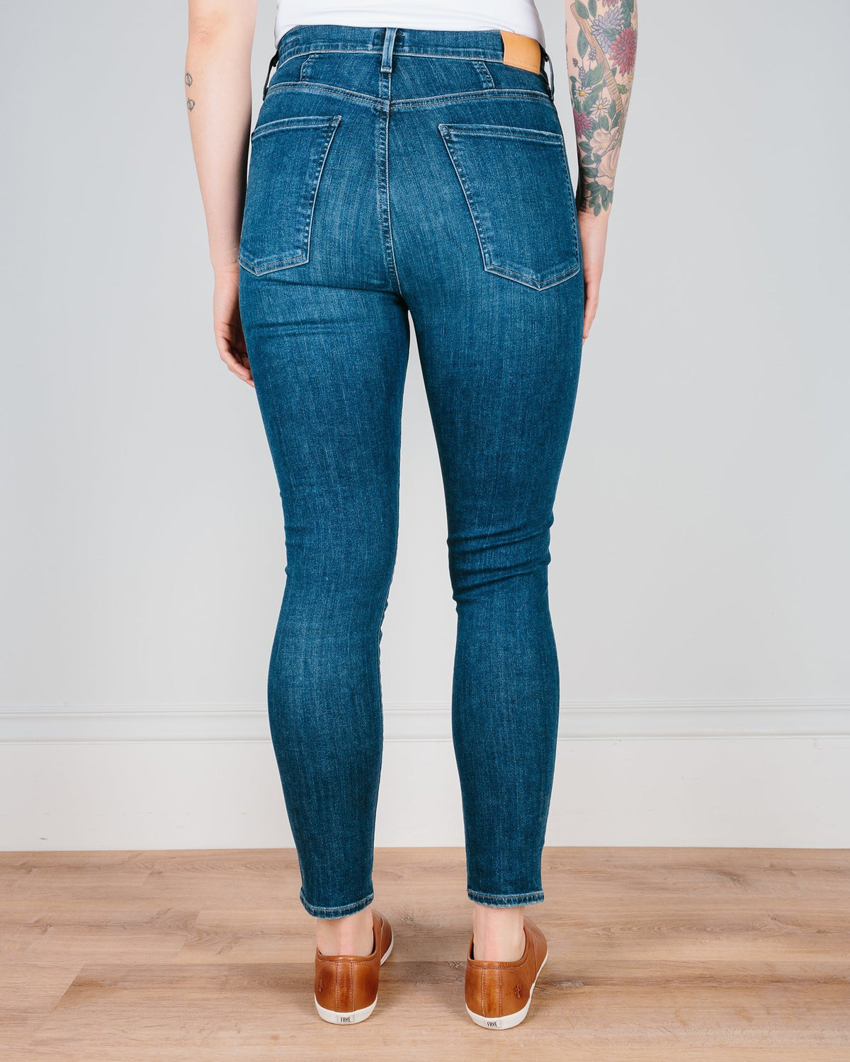 Citizen's of Humanity Denim Carmel / 24 Chrissy High Rise Skinny in Carmel