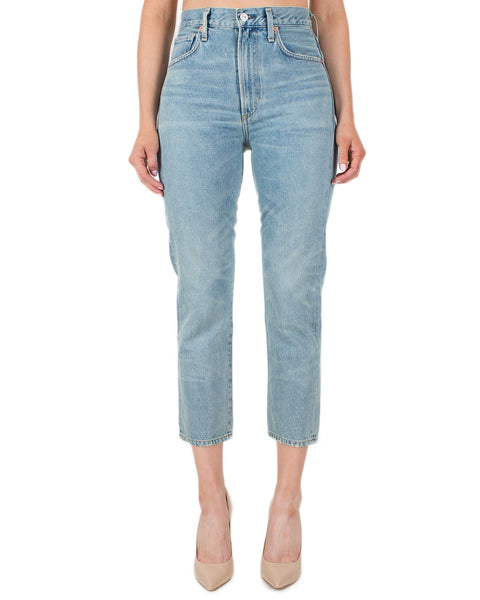Citizen's of Humanity Denim Savana / 24 Dree Crop H/R Slm Straight-Savana