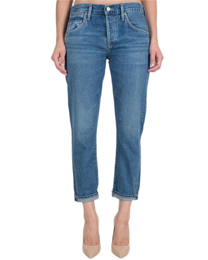 Citizen's of Humanity Denim Admire / 24 Emerson Slim Boyfriend Ankle- Admire