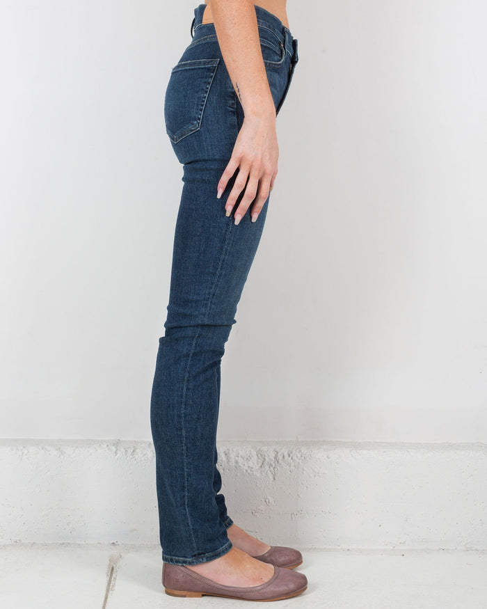 Citizen's of Humanity Denim Carmel / 25 Harlow High Rise Slim Straight in Carmel