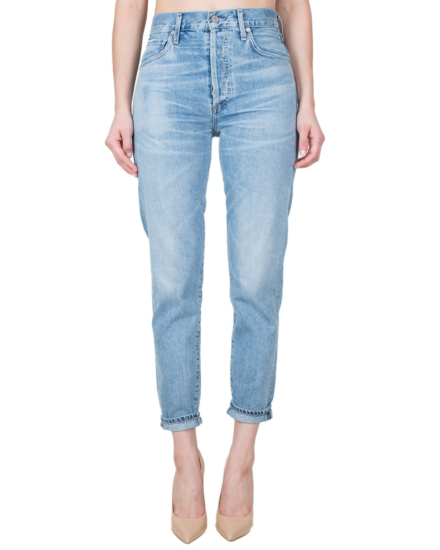 Citizen's of Humanity Denim Sunday Morning / 25 Liya High Rise Classic Fit