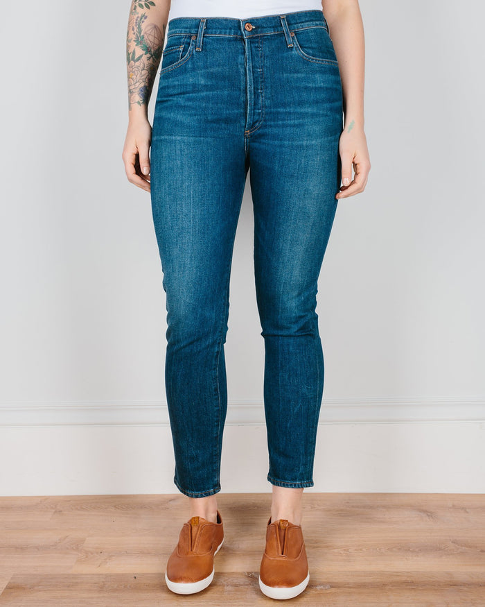 Citizen's of Humanity Denim Mercy / 25 Olivia High Rise Slim Ankle in Mercy