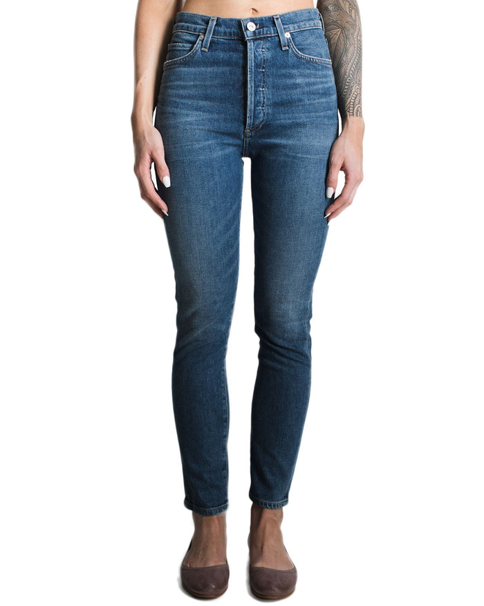 Citizen's of Humanity Denim Solo / 25 Olivia High Rise Slim Ankle
