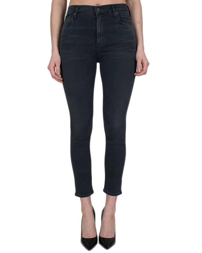 Citizen's of Humanity Denim Chateau / 24 Rocket Crop H/R Skinny