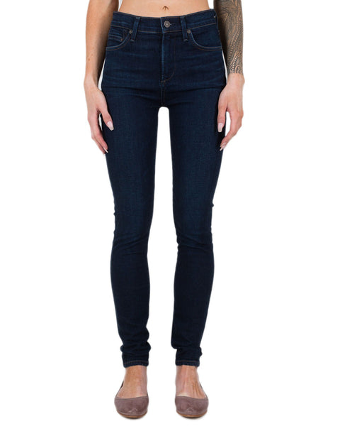 Citizen's of Humanity Denim Galaxy / 24 Rocket High Rise Skinny in Galaxy