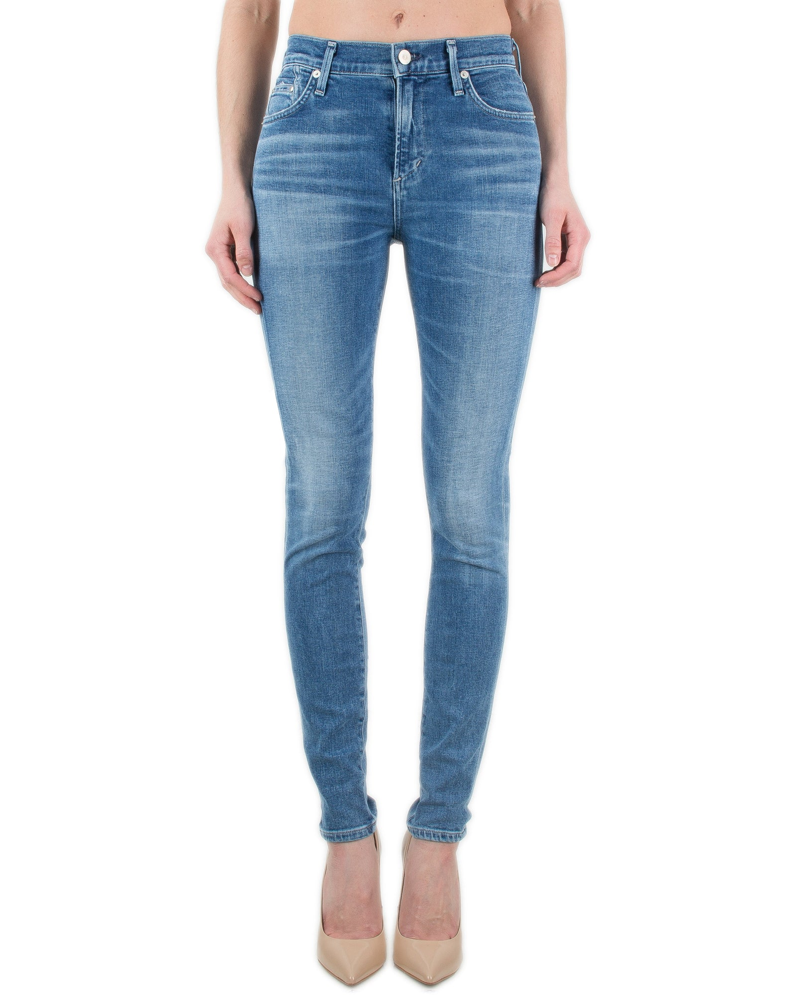 Citizen's of Humanity Denim Pacifica / 25 Rocket High Rise Skinny