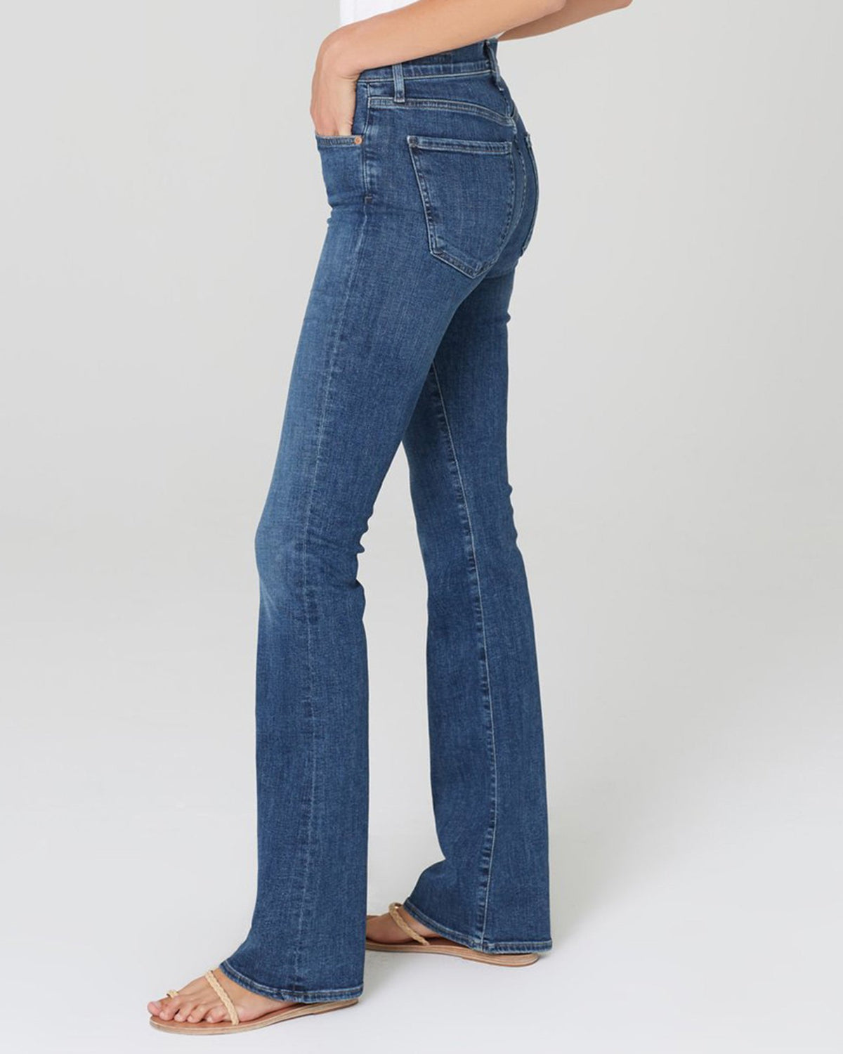 Citizens of Humanity Denim Emanuelle Petite Slim Bootcut in Alto