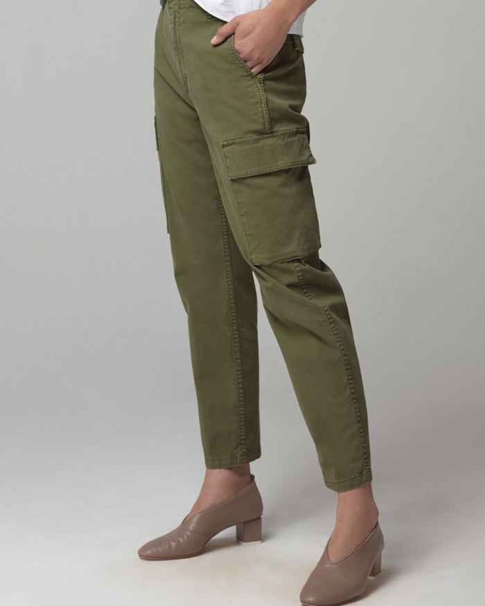 Citizens of Humanity Denim Gaia Pant in Army Green