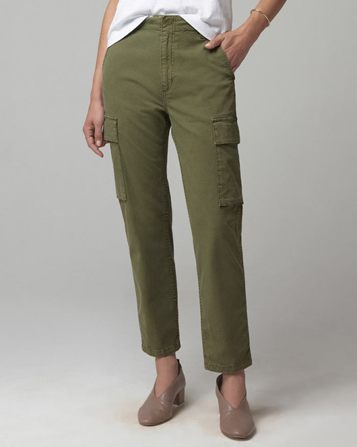 Citizens of Humanity Denim Army Green / 25 Gaia Pant in Army Green