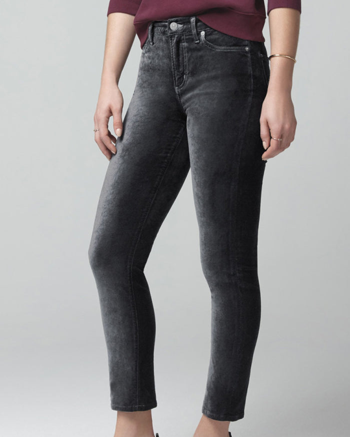 Citizens of Humanity Denim Harlow Ankle Slim in Slate