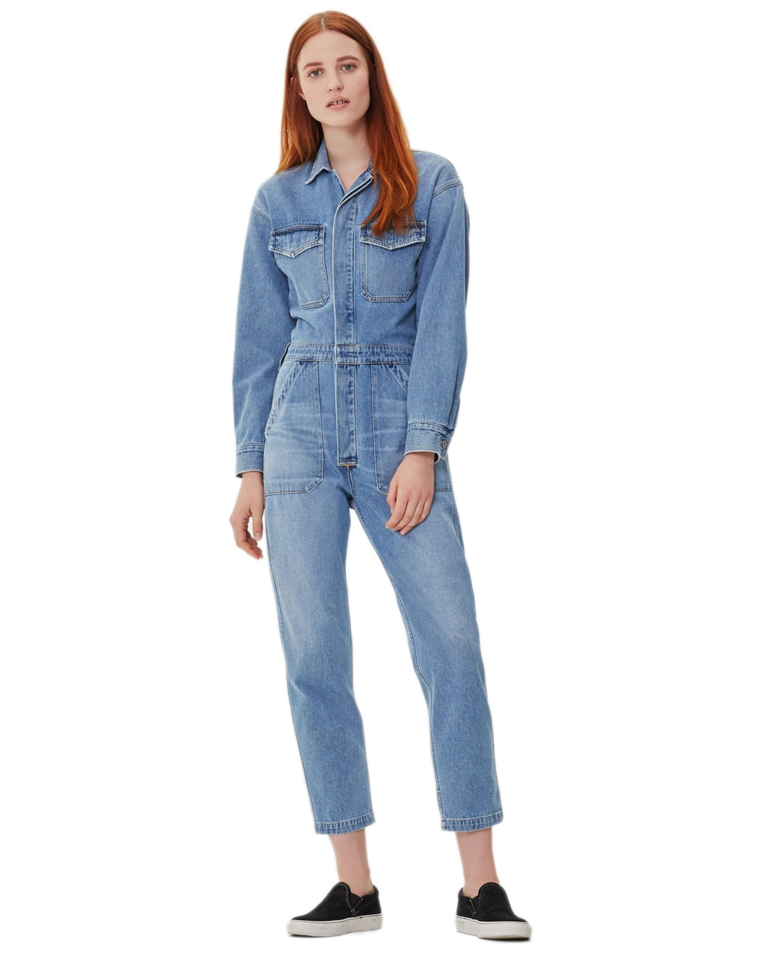 6ec03257d Citizens of Humanity Denim Monologue / XS Marta Jumpsuit ...