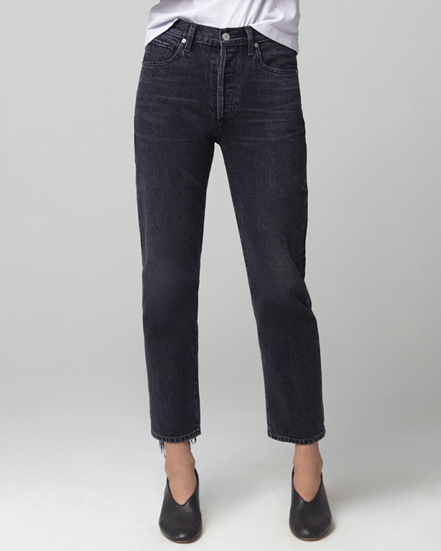 Citizens of Humanity Denim Prince / 25 McKenzie Curved Straight in Prince