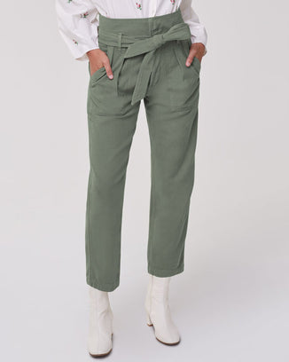 Citizens of Humanity Denim Noelle Belted Cargo in Bonsai