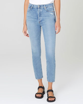 Citizens of Humanity Denim Olivia Zip in Chit Chat
