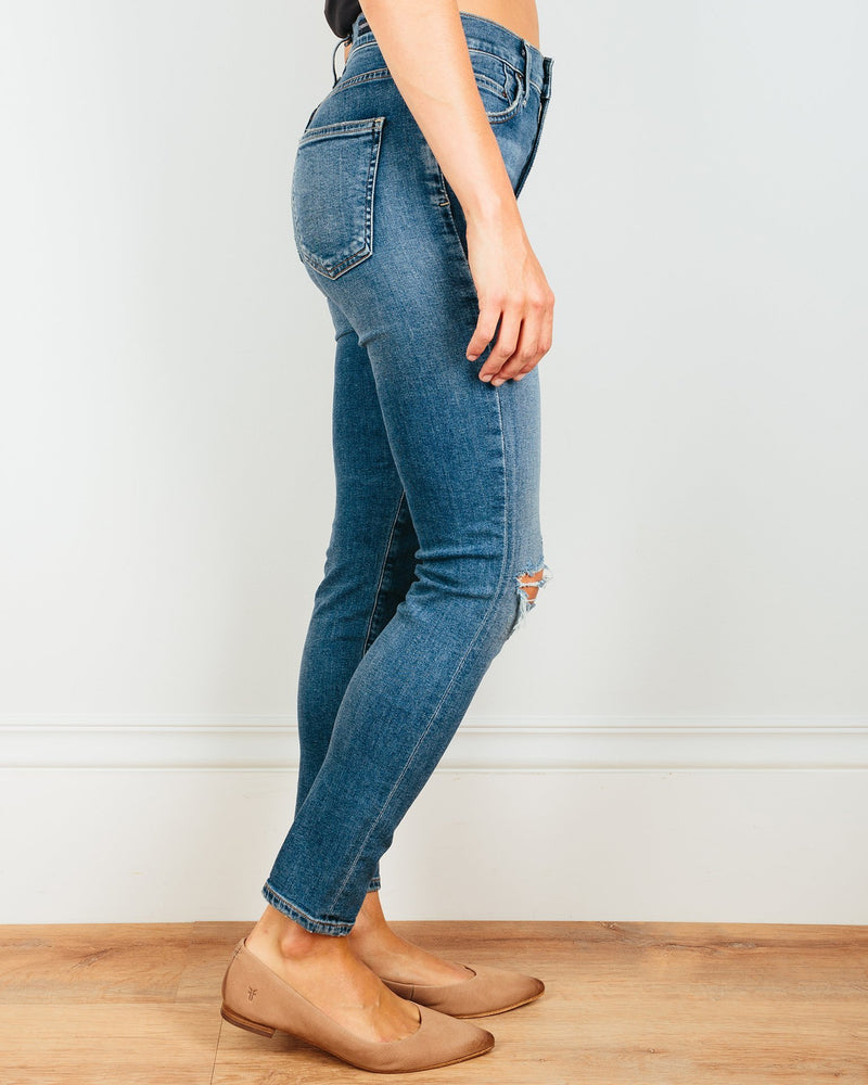Citizens of Humanity Denim Rocket Crop in Swing Low