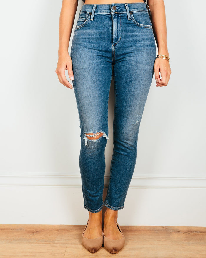 Citizens of Humanity Denim Swing Low / 24 Rocket Crop in Swing Low