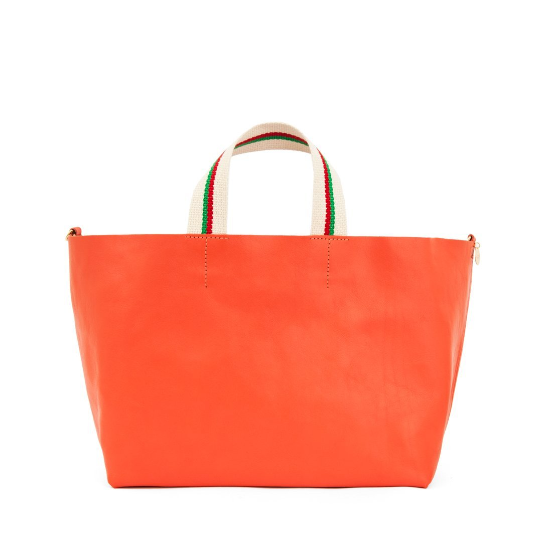 Clare V. Accessories Blood Orange / o/s Bateau Tote in Blood Orange