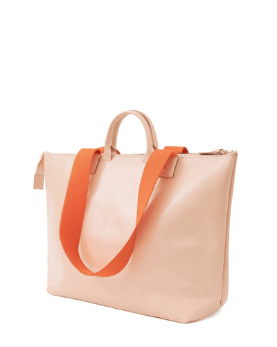 Clare V. Accessories Le Zip Sac in Pale Pink