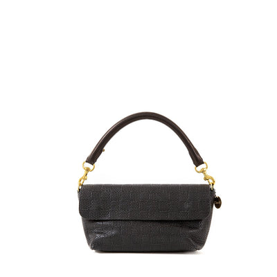 Clare V. Accessories Black / o/s Tubular Top Handle in Black